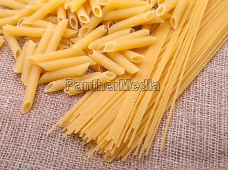 series of images with pasta food