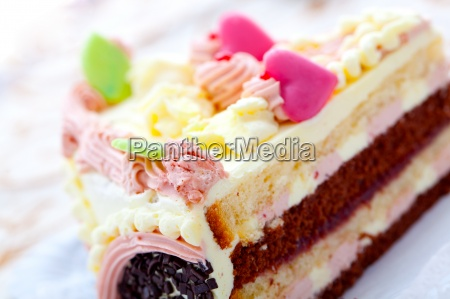 valentine torte kuchen mit herz