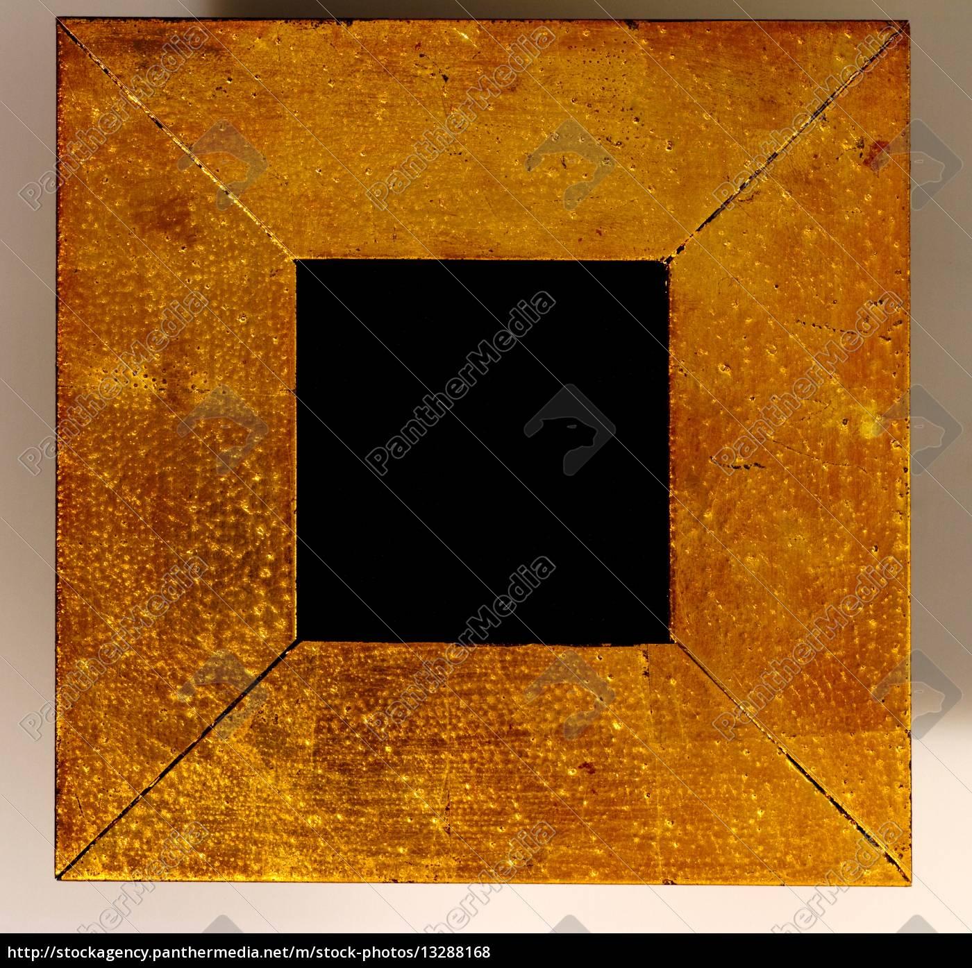 farbe gold struktur form rahmen fett punkte dick - Lizenzfreies Foto ...