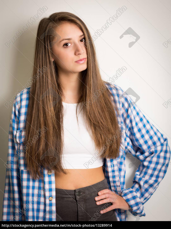 Jugendliches Mädchen