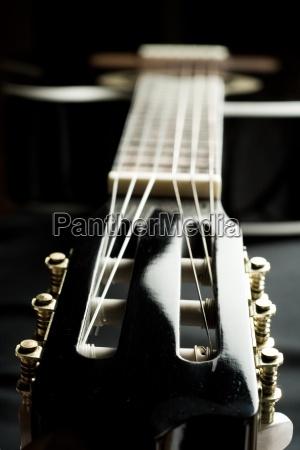 gitarre schwarz seiteninstrument konzert seiten musik