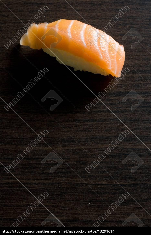 sushi;, maki;, lachs;, , japan;, japanisch; - 13291614