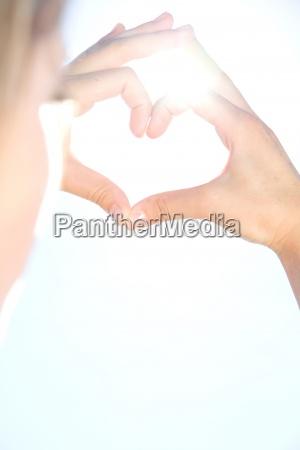 woman sign signal hand hands finger