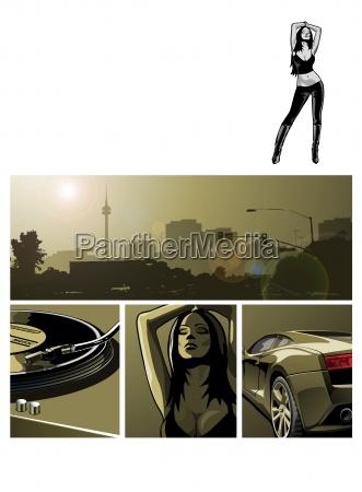 partywomanflyer comic