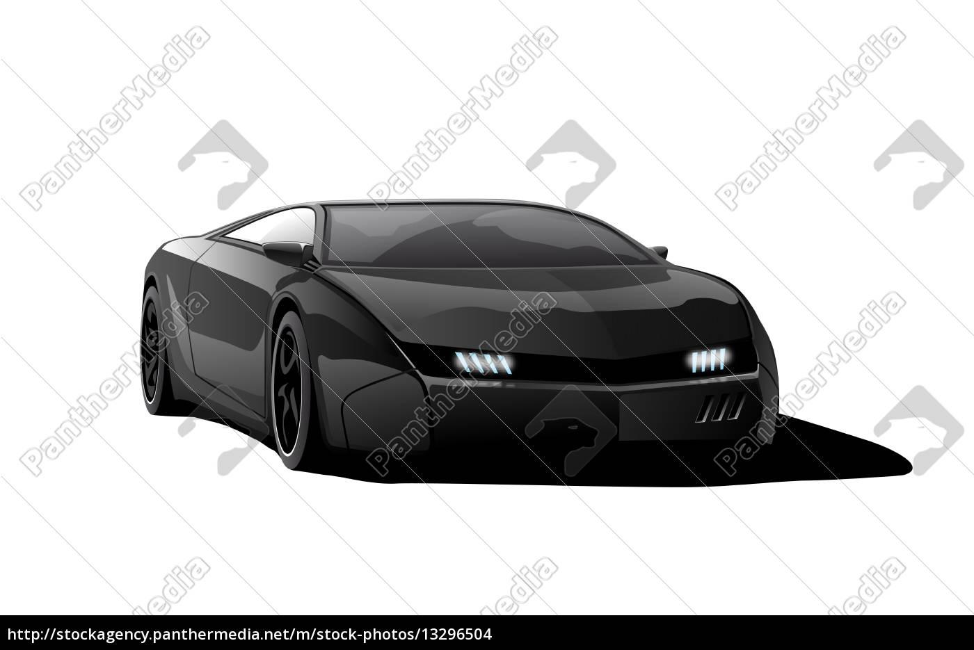 rennwagenfinal-black-blank - 13296504