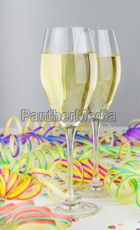 champagne glasses two champagne sparkling wine