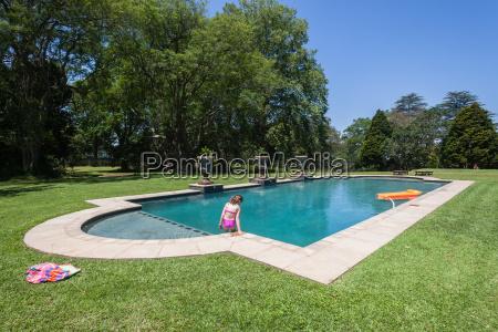 girl pool summer