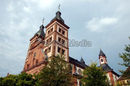 abteikirche in amorbach