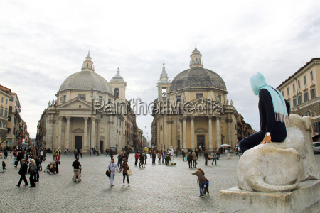 piazza di popolo in rom