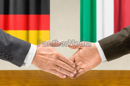 representatives of germany and italy reach