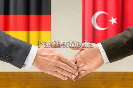 representatives of germany and turkey reach