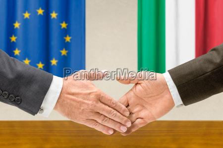 representatives of the eu and italy