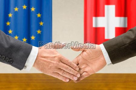 representatives of the eu and switzerland
