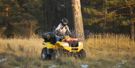 manoevrieren off road atv