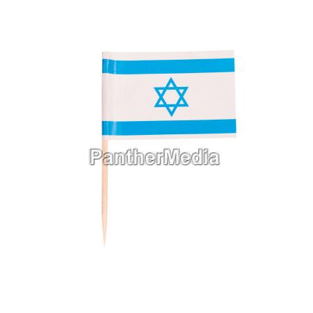 zahnstocher flagge israel