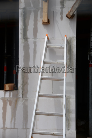 ladder on a construction site