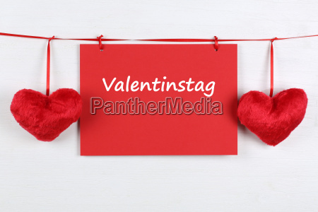 karte zum valentinstag mit textfreiraum und