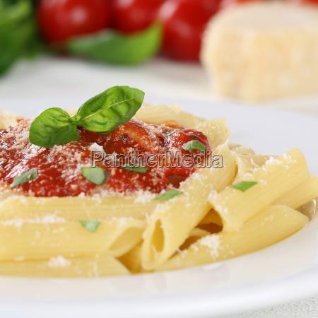 noodles with tomato napoli sauce pasta