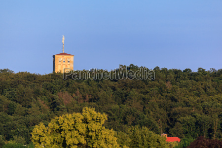 view of the castle ballenstedt