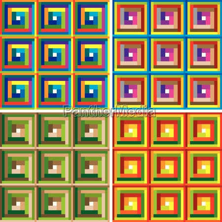 abstract colorful pattern vector