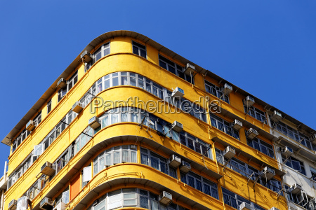 old apartments in hong kong at