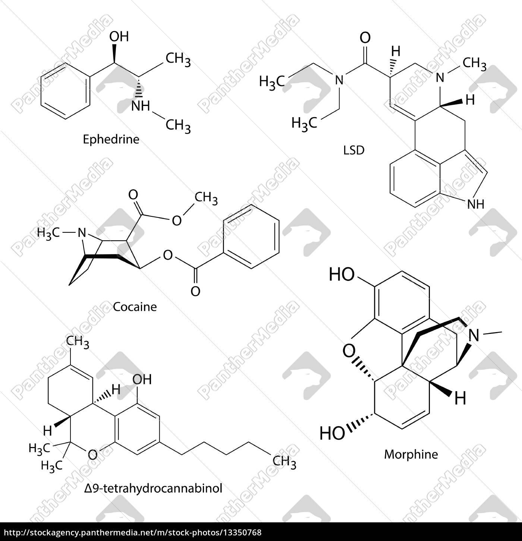 chemische formeln von illegalen drogen und substanzen. Black Bedroom Furniture Sets. Home Design Ideas