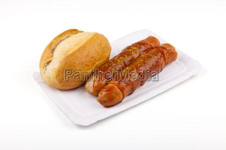 currywurst german sausage