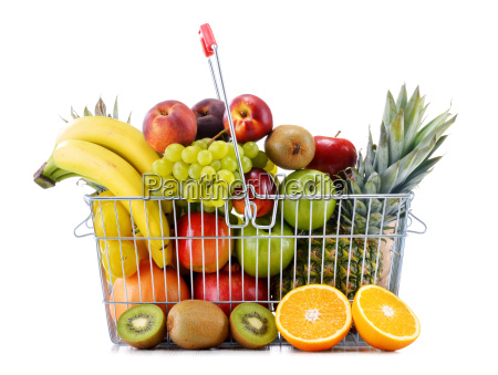 composition with variety of fresh fruits