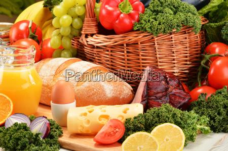 zusammensetzung, mit, verschiedenen, bio-lebensmittelprodukte - 13374522
