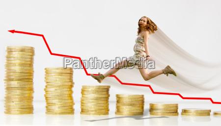 geld erfolg vermoegen zinsen finanzen frau