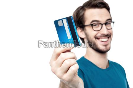 zeit, um, mit, meiner, kreditkarte, einkaufen - 13379930