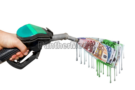 benzinpreis hand benzin geld euro kosten