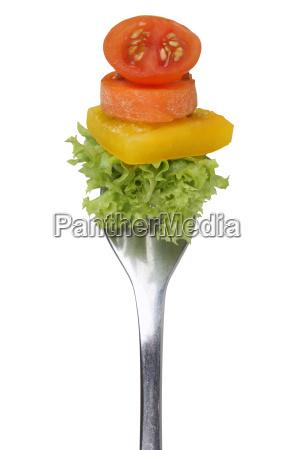 vegetarisch oder vegan ernaehrung salat essen