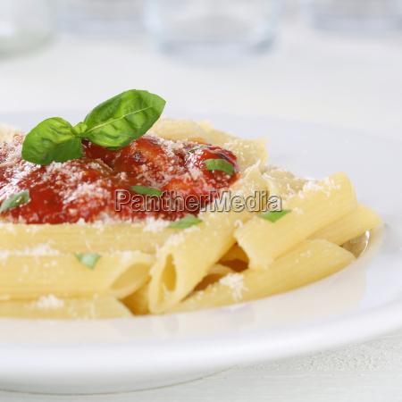 penne with tomato sauce napoli pasta