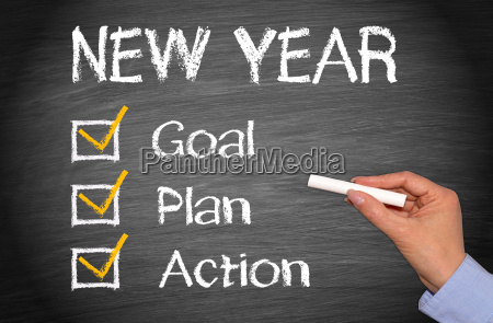 new year goal plan action