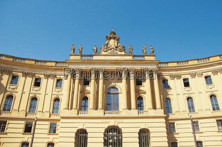 juristische fakultaet humboldt universitaet berlin deutschland