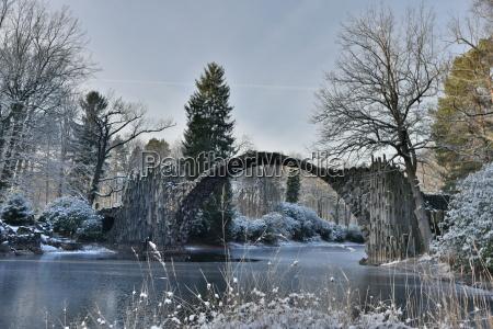 rakotzbuecke im winter