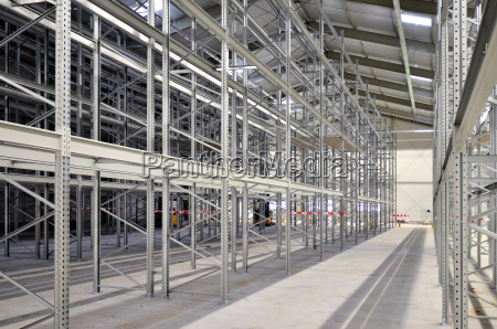 new high bay warehouse with steel