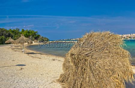 beach of novalja pag island