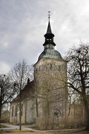 st christophorus church northern germany