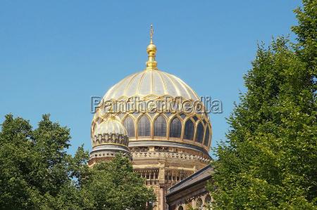 synagogue oranienburgerstrasse berlin germany