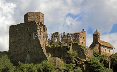 castle hocheppan near bolzano in south