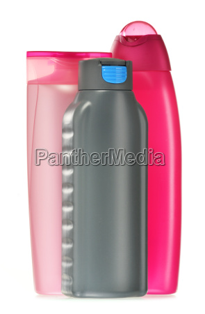 kunststoff flaschen von koerperpflege und schoenheitsprodukte