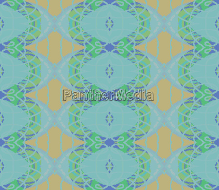 retro background abstract endless pattern blue