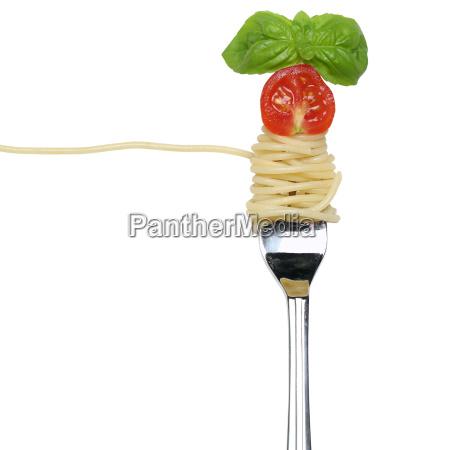 spaghetti pasta pasta food on a