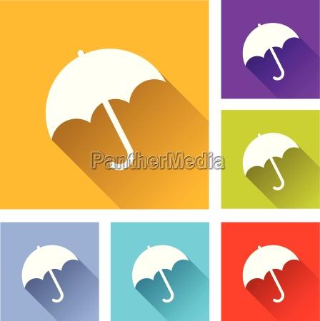 regenschirm icons