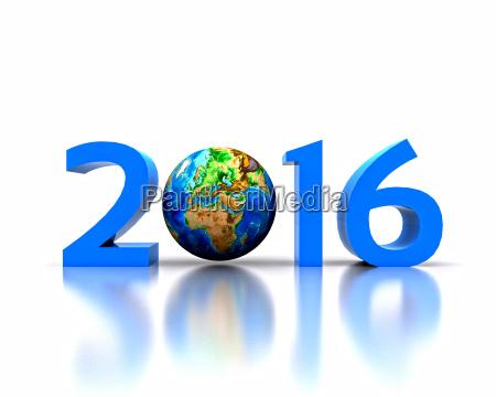 weltweit feiert das neue jahr 2016