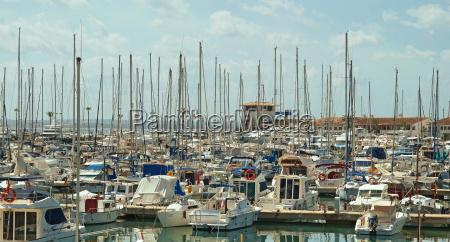 port dalcudia mallorca spanien port