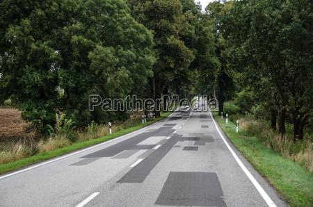 landstrasse in brandenburg