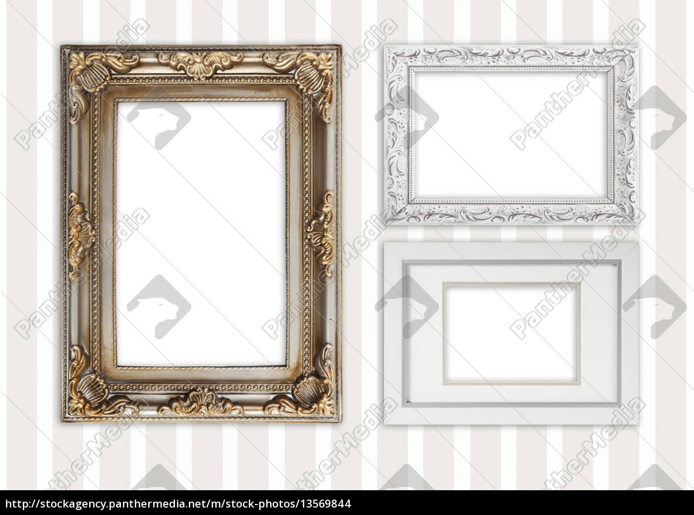 drei verschiedene Bilderrahmen - Lizenzfreies Foto - #13569844 ...